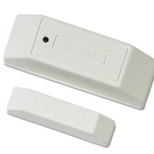 5415A-W – Sensore d'urti, batteria al litio, connessione a 2 fili, con magnete, bianco