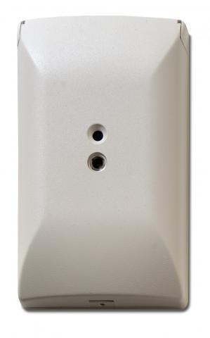 5815NT-ART – Sensore acustico di rottura vetri con contenitore rettangolare.