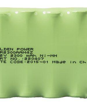 ZeroWire ZW-BS01 Pacco batterie 6VDC 2.1Ah