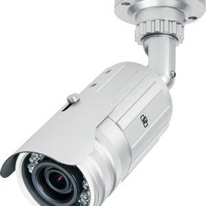 TVB-2102 – Bullet IR TruVision™, PAL, 700 TVL,  ottica varifocal 2.8 -12 mm