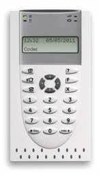 Tastiera ATS-1115A TASTIERA LCD 2 LINEE X16 CARATTERI 16 AREE E LETTORE INTERNO (Verticale)