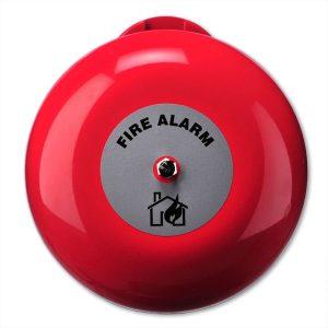 """AB360 – Campana di allarme incendio per uso interno da 6"""", 24Vcc"""