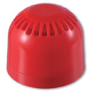 AS363 – Avvisatore acustico di allarme multitono da interno, con base a profilo basso
