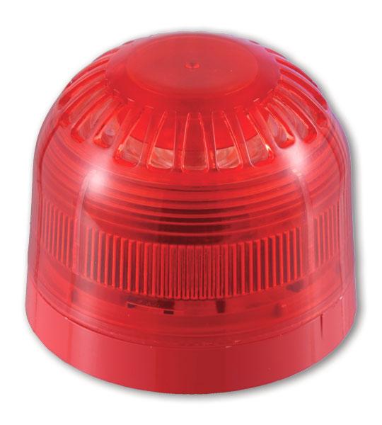 AS366 – Sirena multitono da interno completa di lampeggiante, con base a profilo basso