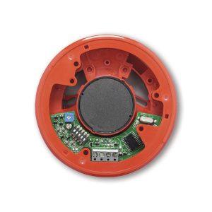 AS368 – Sirena elettronica multitono da interno con profilo basso.