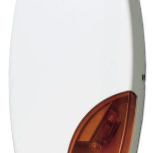 AS508 – Sirena da esterno autoalimentata con lampeggiante