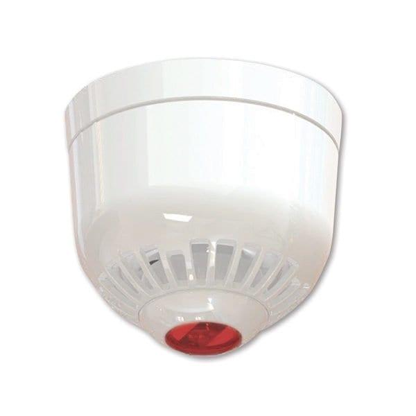 ASC366W – Avvisatote ottico/acustico multitono, montaggio a soffitto, lampeggiante rosso