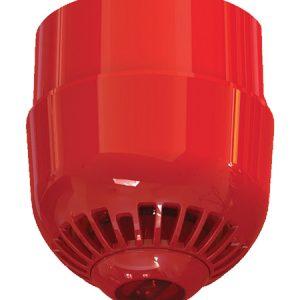 ASC2367 – Avvisatore ottico/acustico per serie 2000, multitono, per montaggio a soffitto