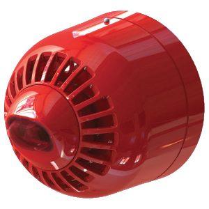 ASW2366 – Avvisatore ottico/acustico per serie 2000, multitono, per montaggio a parete