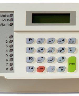 ATS1100 SERIE – TASTIERA LCD 2 LINEE X16 CARATTERI E LED PER 8 AREE