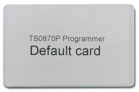ATS1480 – TESSERA DI DEFAULT PER PROGRAMMATORE SMART