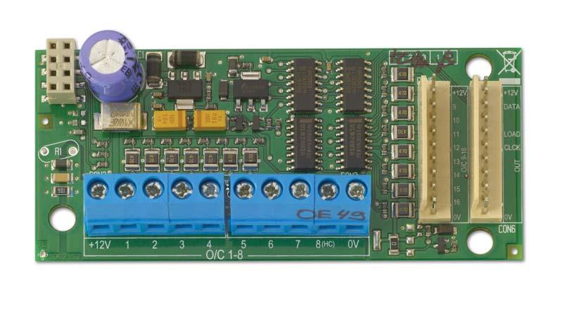 ATS626 – Modulo di espansione uscite a 16 open collector ad innesto