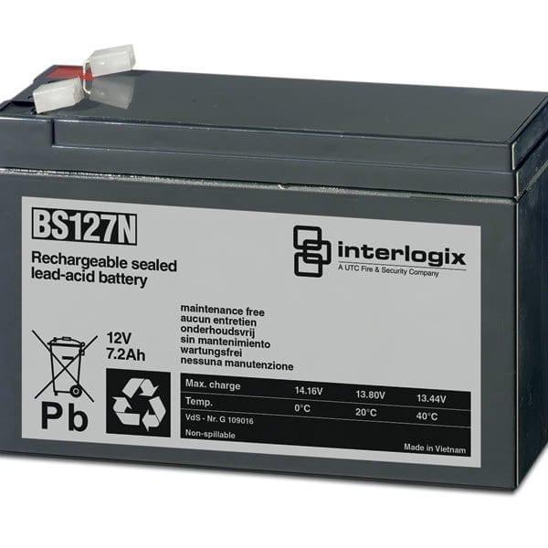 BS127N – Batteria sigillata all'acido di piombo – 12 V – 7.2 Ah