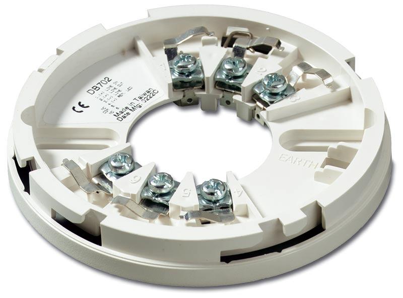 DB702 – Base con diametro 10cm – 6 terminali