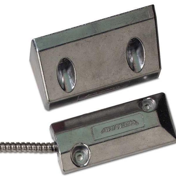 DC108 – Contatto magnetico in alluminio a pavimento