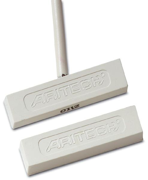 """DC141 – Contatto magnetico tipo """"mini"""" autoadesivo. Con cavo. GAP 25 mm."""