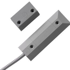 DC408 – Contatto magnetico per installazione a pavimento, EN grado 3, grigio