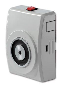 FE230 – Elettromagnete, montaggio a parete, e pulsante di sblocco