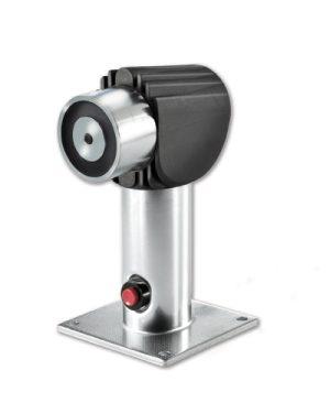 FE260-175 – Elettromagn x montag. a parete o pavimento, 400N, con pulsante di sblocco, 175mm