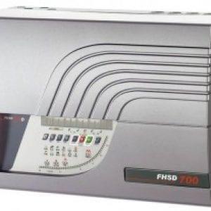 FHSD721DC – Sistema di rivelazione fumo ad aspirazione 4 tubi – 1 area con display