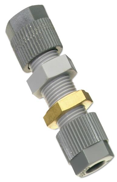 FHSD762 – Raccordo di giunzione dritto per micro tubo di campionamento da 6mm