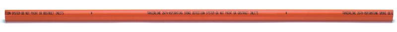FHSD771 – Tubo di campionamento rigido in pvc di colore rosso da 25mm – lunghezza 3m