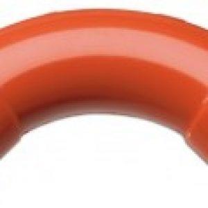 FHSD773 – Curva di giunzione a 90°  per tubo di campionamento rigido in pvc da 25mm