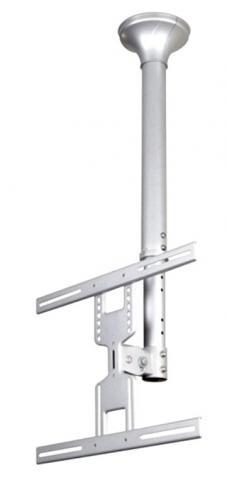 """FPMA-C400SILVER – Staffa da soffitto per schermi LCD/TFT  fino a 52"""" VESA"""