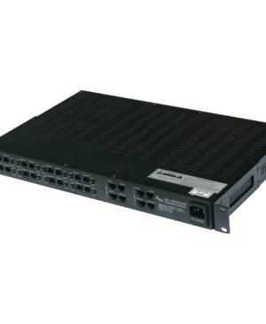 GEC-16VPDCHUB – Combiner intermedio UTP multi-canale passivo (Video-Power-Data)
