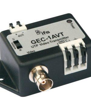 GEC-1AVT – Trasmettitore video attivo su UTP a singolo canale