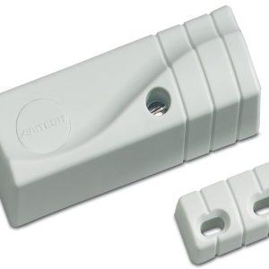 GS711 – Sensore inerziale bianco con contatto magnetico