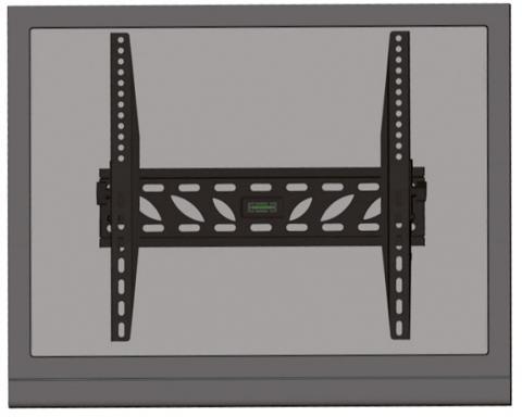 """LED-W240 – Staffa a muro per monitor LCD/TFT VESA fino a 47"""" (118 cm)"""