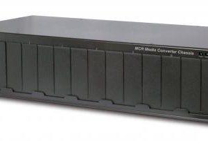 MCR-R15 – Media Converter Rack with Internal Power Supply – 15 slots