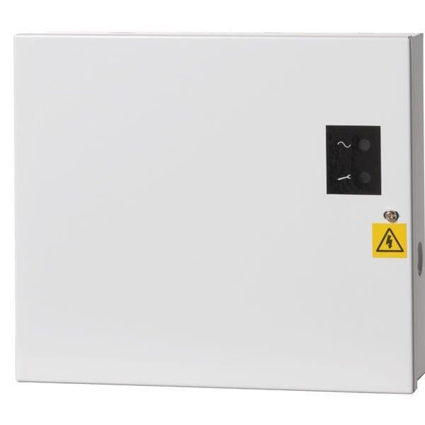 PM811-G2 – Alimentatore lineare con contenitore, certificato EN50131 grado 2, 12VCC 1A