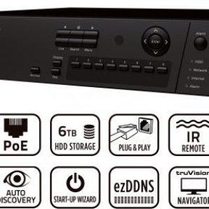 TVN10 – TruVision™ NVR 10,  NVR Plug&Play 8/16 canali HD, 1.5U