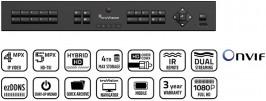 TVR15HD – TruVision™ DVR 15 HD, HD-TVI Hybrid 8/16 channel recorder