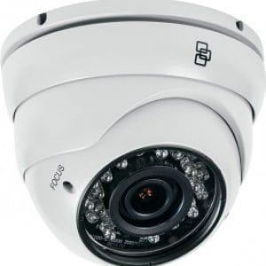 TVT-2101 – Dome Turret IR TruVision™, PAL, 700 TVL, ottica fissa 3.6mm