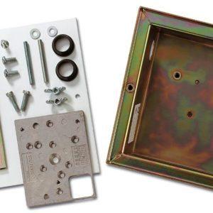 VM611P – Scatola per montaggio a pavimento per rivelatori sismici