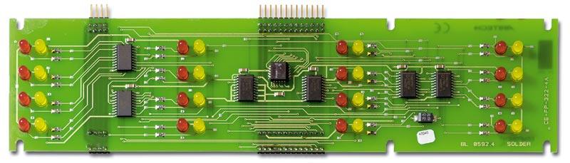 ZE2016 – Modulo espansione LED per 16 zone allarme/guasto