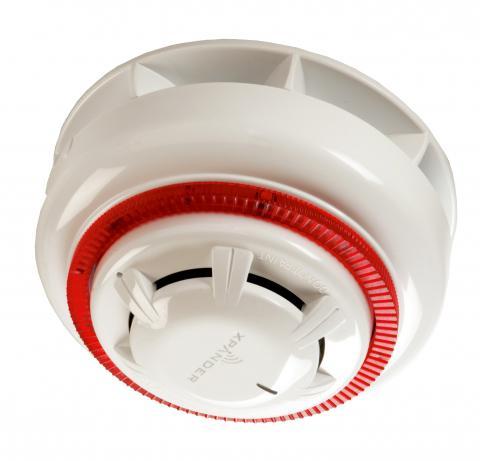 DP931VAS-RF – Series 930 Wireless Optical Detector /w Sounder & Red Visual Indicator