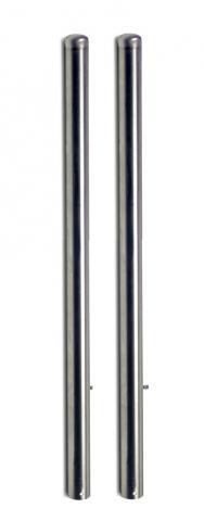 MRW03 – Coppia di pali in acciaio inox da 120 cm.
