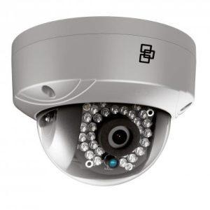 TVD-5301 – Telecamera Mini Dome Truvision IP, 2 MPX, ottica fissa da 2.8mm, WDR,15m IR