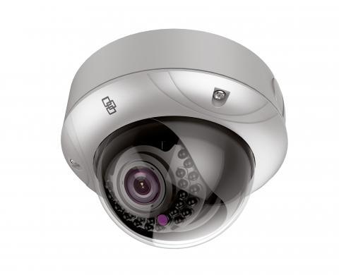 TVD-5303 – Telecamera Mini Dome Truvision IP, 2 MPX, ottica da 2.8 a 12mm, WDR, 30m IR