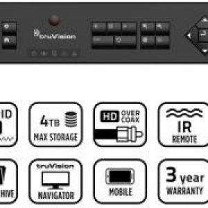 TVR-1504CHD-1T – TruVision™ DVR 15c HD, HD-TVI Hybrid 4 channel compact recorder, 1TB