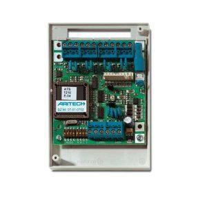 ATS1210E – Concentratore a 8 zone 8 uscite, contenitore plastico. EN50131 Grado 3