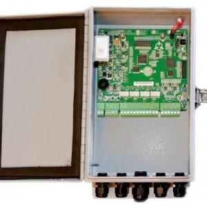 DF104 – Processore FlexZone-4 in contenitore NEMA in alluminio