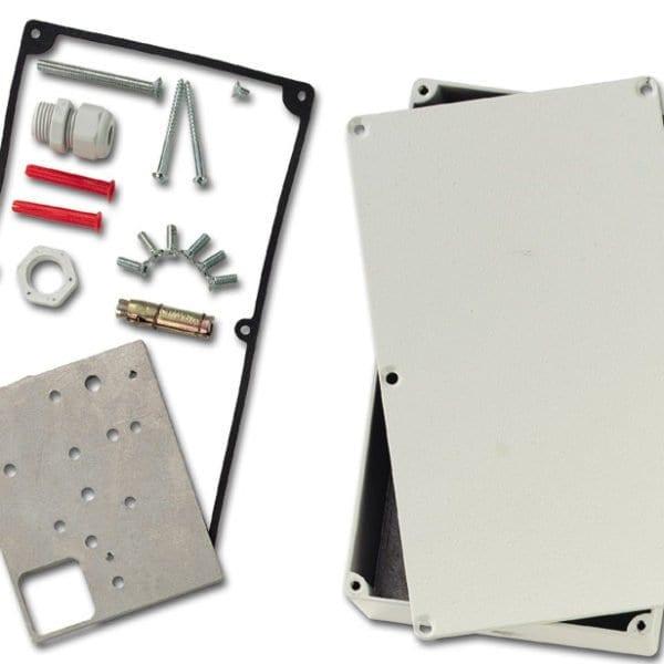 VM603P – Scatola di protezione a prova di intermperie per rivelatori sismici.
