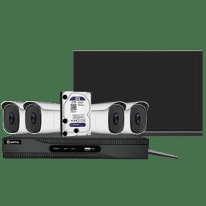 Safire Kit SF-KIT40-4K preconfigurato