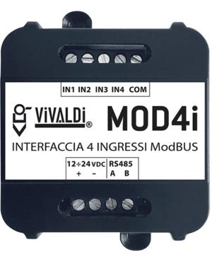 Vivaldi Domotica MOD4i